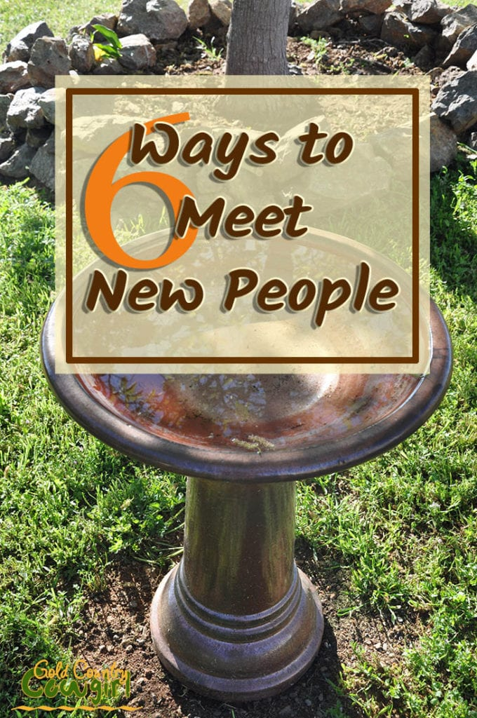 To meet new people, you have to get up and get out of your comfort zone. You have to make an effort to connect. Here are methods I've tried to meet people.