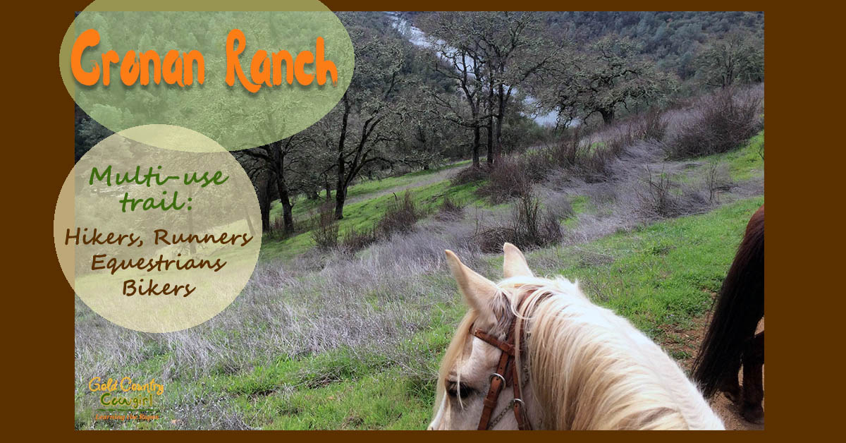 Cronan Ranch Trail Ride on Multi-Use Trails