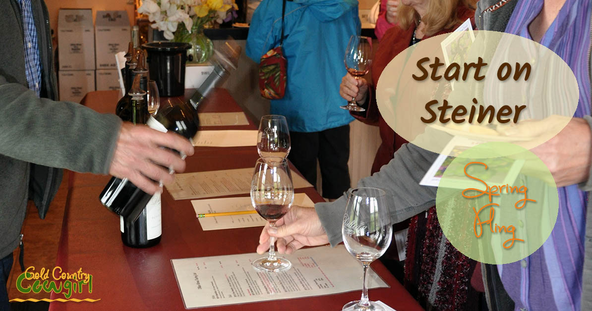Start on Steiner Spring Fling Wine Tasting