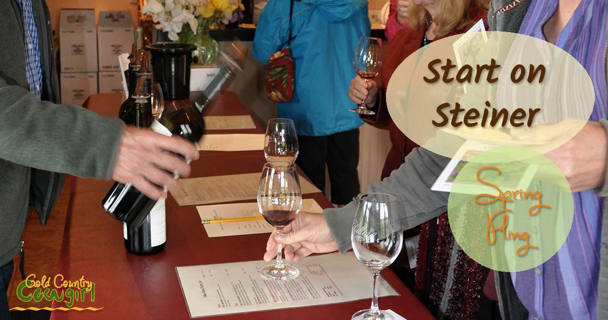 Start on Steiner Spring Fling Wine Tasting