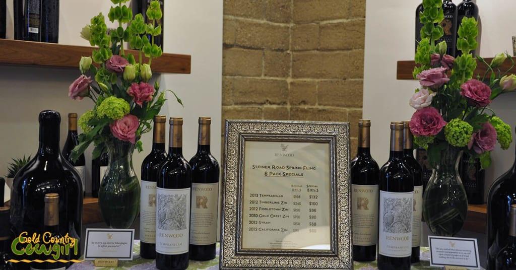 Start on Steiner Renwood wine specials