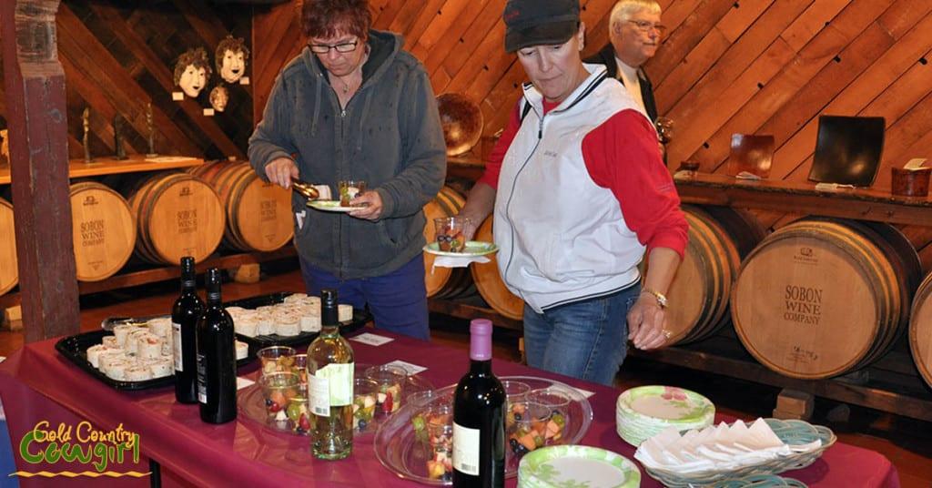 Start on Steiner food at Shenandoah (Sobon)