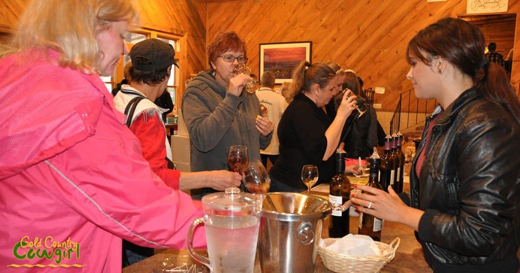 Start on Steiner wine tasting at Shenandoah