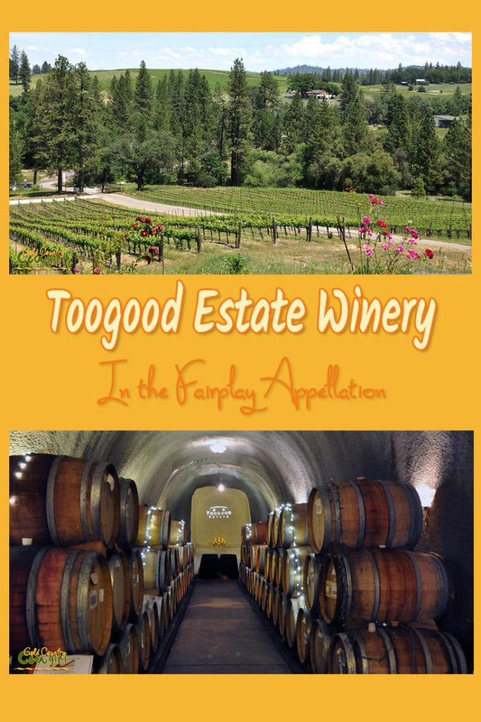 In May 2001, Toogood Estate Winery was established on a 40-acre parcel of rolling hills with microclimates perfect for the varietals hand selected for it. www.goldcountrycowgirl.com