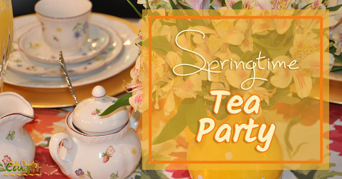 Tea Party with My Saucy Sisters