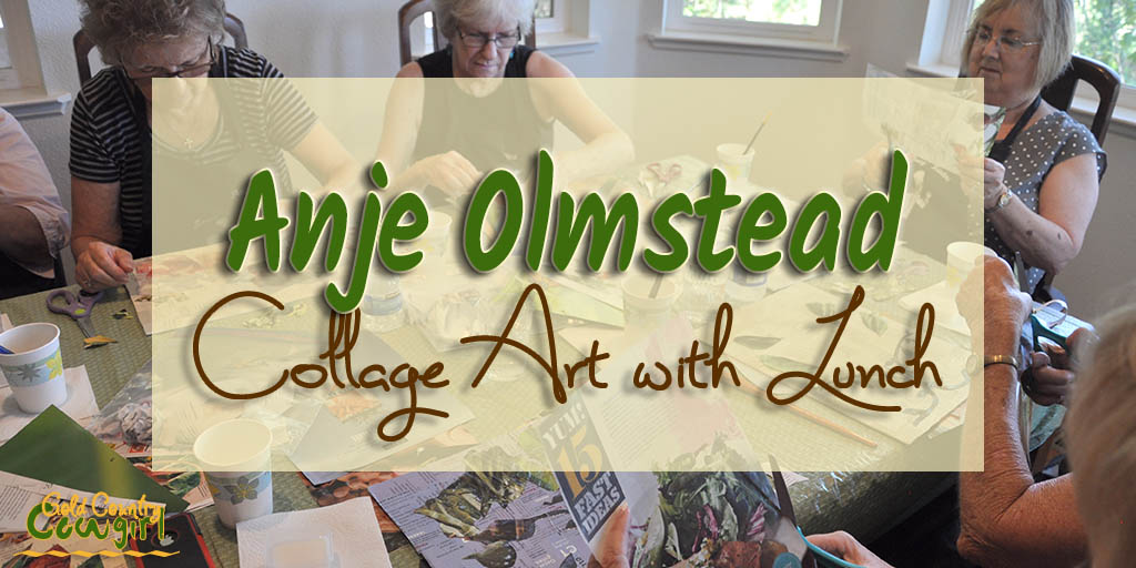 Anje Olmstead Collage Artist