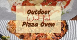 An outdoor pizza oven is fun and practical. Everyone can make their own pizza the way they want and you keep your kitchen cool while enjoying the outdoors.