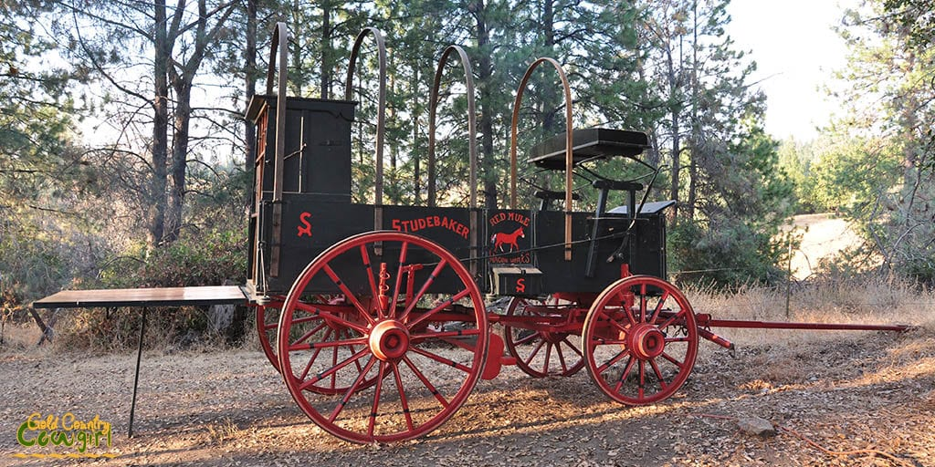 Red Mule Wagon