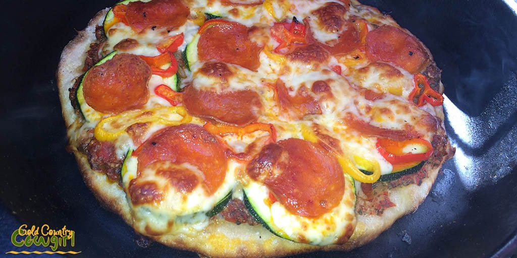 Baking Pizza - cooked on the barbecue