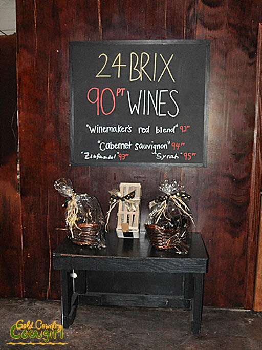 24 BRIX 90 point wines