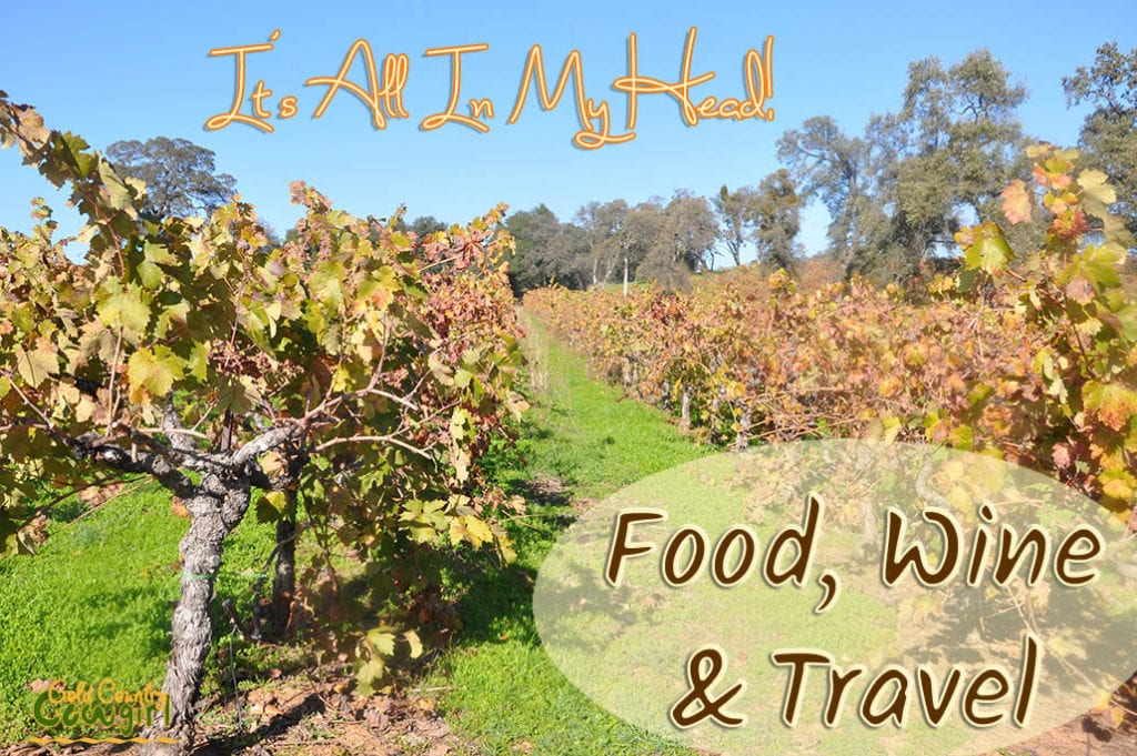 A preview of what's coming on the blog in food, wine and travel - a field trip to Allspicery, some wine tasting and a couple of terrific recipes.