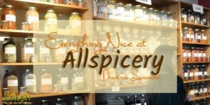 The Saucy Sisters cooking group recently took a foodie field trip to Allspicery, a new spice shop in downtown Sacramento. We were like kids in a candy store.