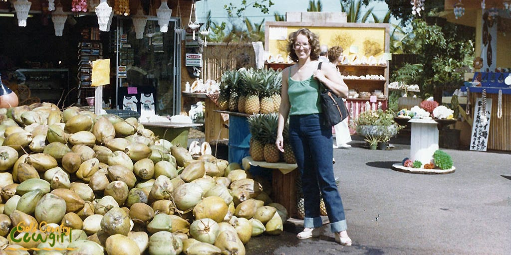 Lots of coconuts in Hawaii - 1979