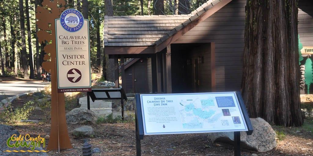 Calaveras Big Trees visitor center