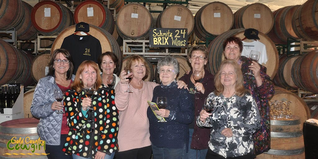 Some of the Vineyard Vixens at 24 BRIX