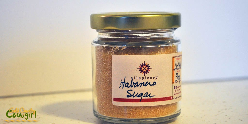 Habanero sugar from Allspicery