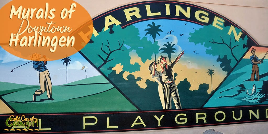 Murals of Downtown Harlingen title graphic