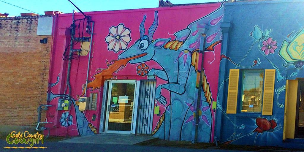 Oaxacan Dragon - Murals of Downtown Harlingen