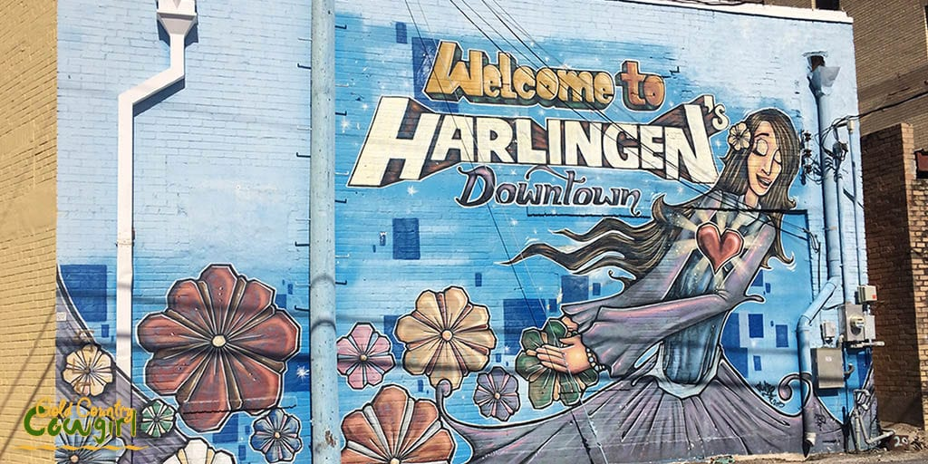 Welcome to Downtown Harlingen mural