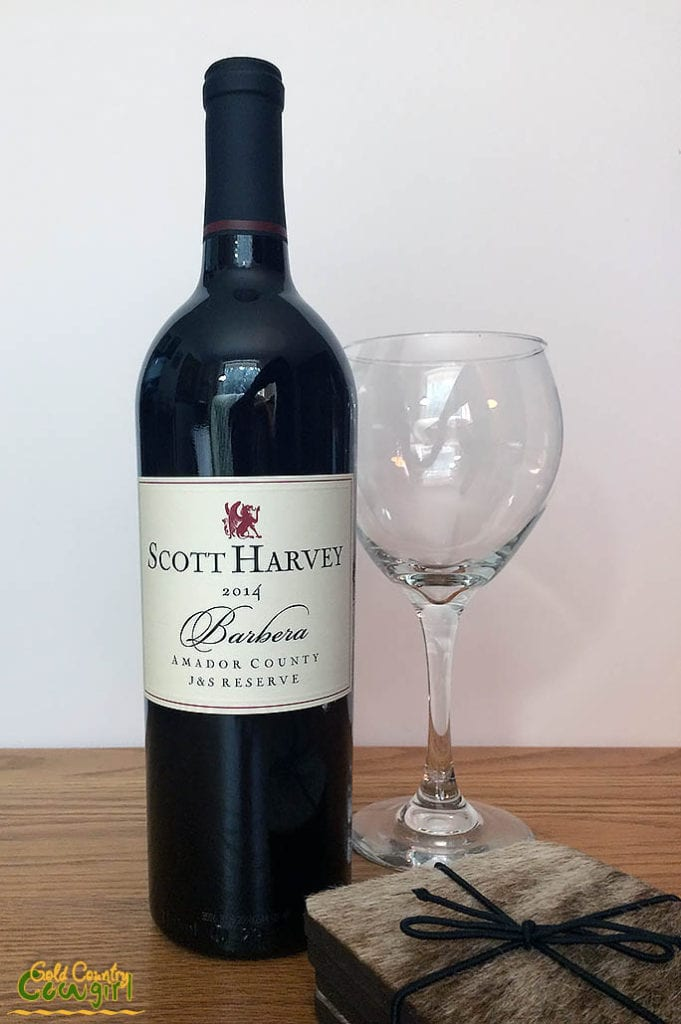 Scott Harvey J&S Reserve Barbera