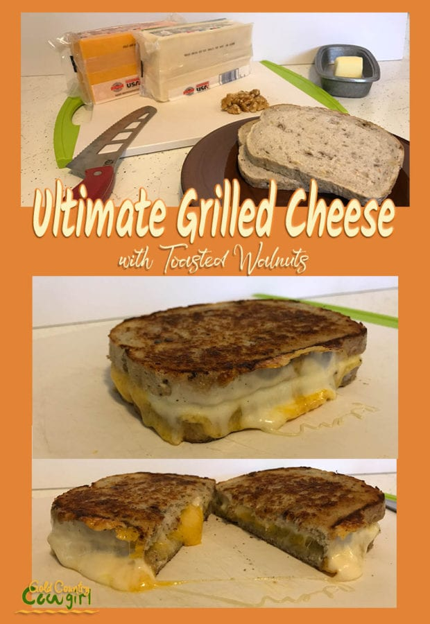 I love adding nuts to pretty much everything, including my ultimate grilled cheese sandwich. Check out my secret for always have totally melted cheese.