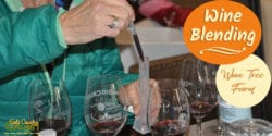 The wine blending class at Wine Tree Farm is educational and thoroughly enjoyable. It was a blast and I highly recommend it.