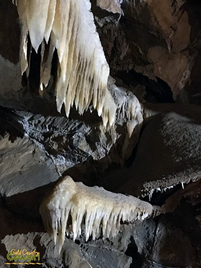 Formations in cavern