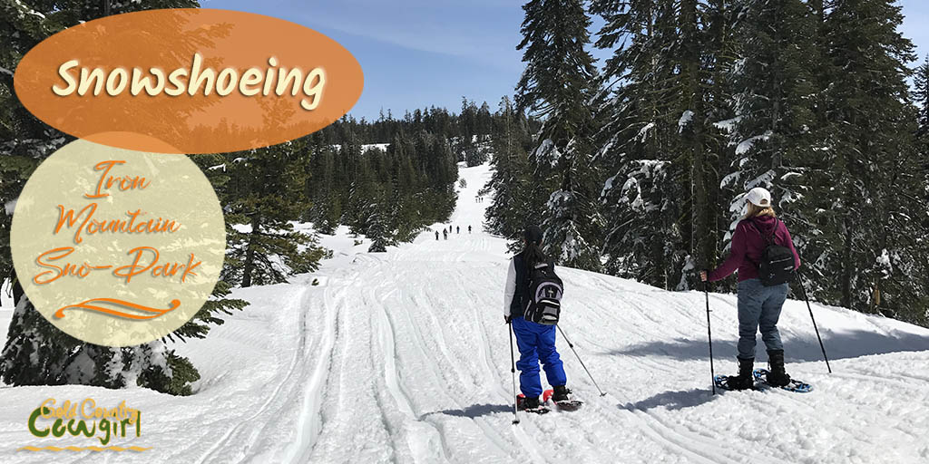 I tried snowshoeing for the first time this week. I love that I can go from wildflowers to snowshoeing in 30 minutes or less in Gold Country. Check it out.