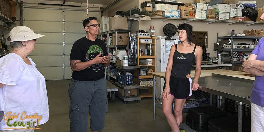 Ryker and Valarie - Mushroom Farm Tour -- Dragon Gourmet Mushrooms