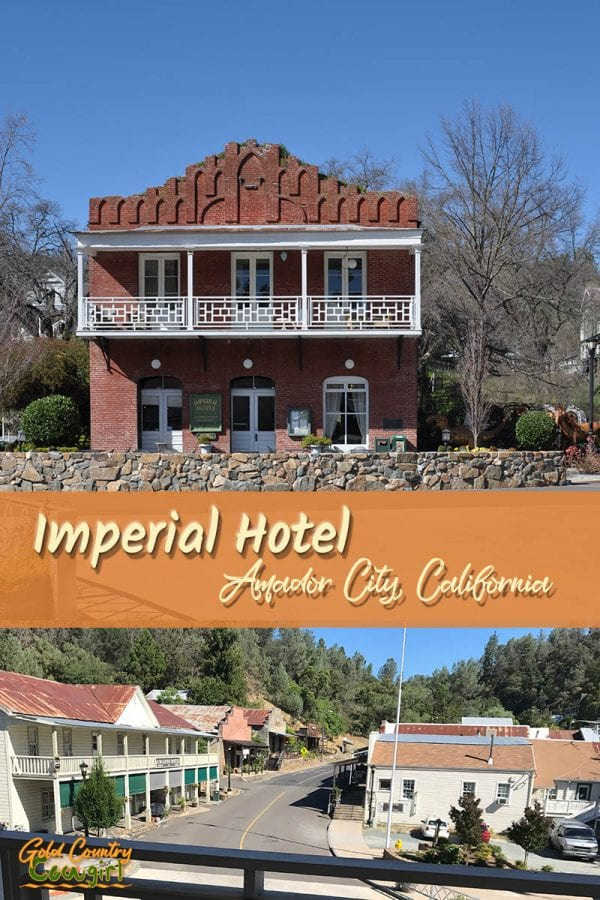 Although it is the smallest incorporated city in California, Amador City still has much to offer, including the elegant, yet casual, Imperial Hotel.