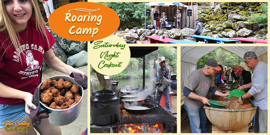 The Roaring Camp Saturday Night Cookout is an evening full of adventure, food, fun, entertainment, education and history for the whole family.