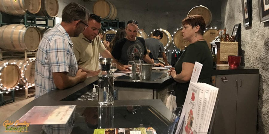 Dobra Zemlja Celebrates 22 Years in Shenandoah Valley - tasting room