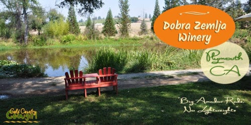 The beautiful grounds with a lake; delicious, robust wines and super friendly staff make Dobra Zemlja Winery a great place to visit in Shenandoah Valley.
