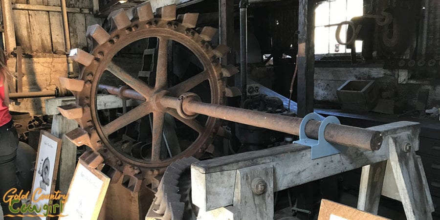 pelton wheel at Knight Foundry