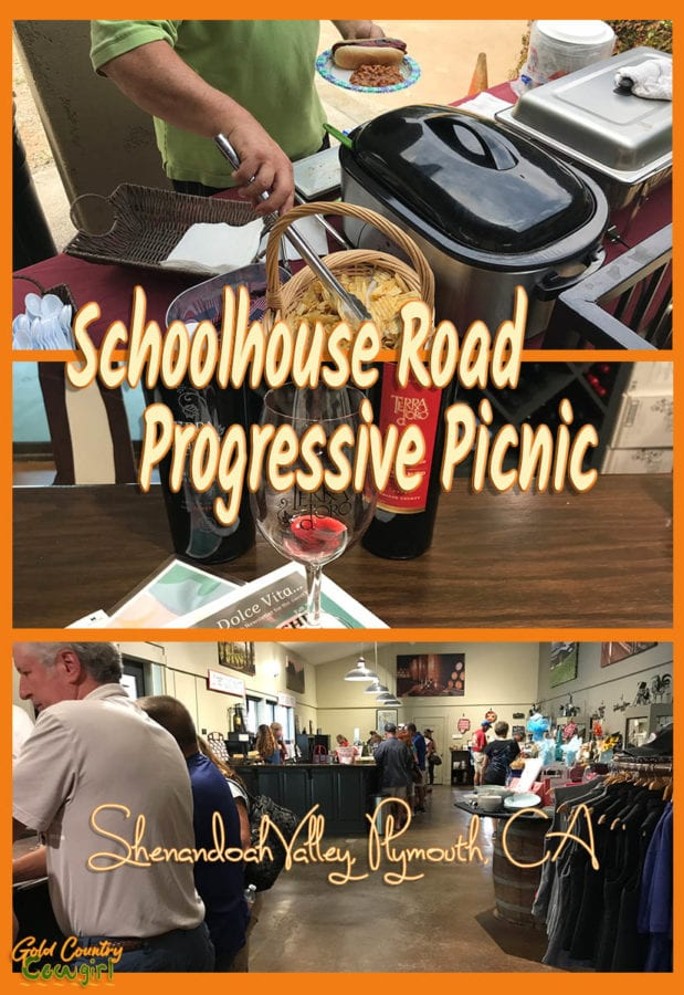 You don't need an excuse to go wine tasting but a special event like the Schoolhouse Road Progressive Picnic in Shenandoah Valley adds to the fun. Plymouth, CA | Travel |