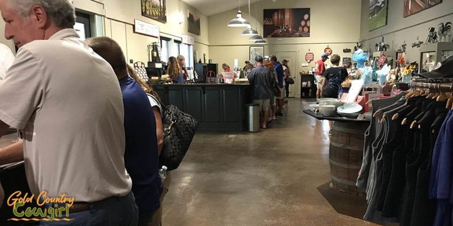 Terra d'Oro Winery Tasting Room