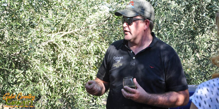 Adam Englehardt from Cobram Estate