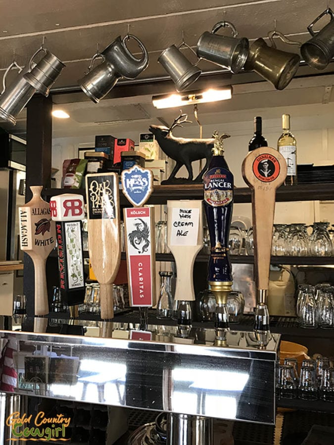 Beers on tap at Jamison's Ale House