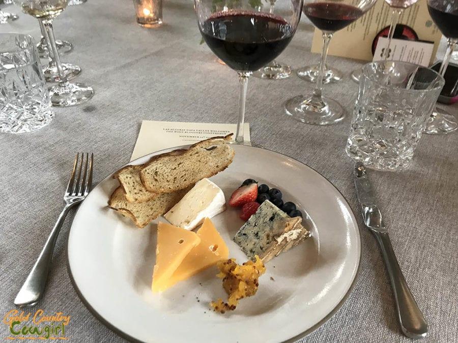 Las Alcobas cheese plate