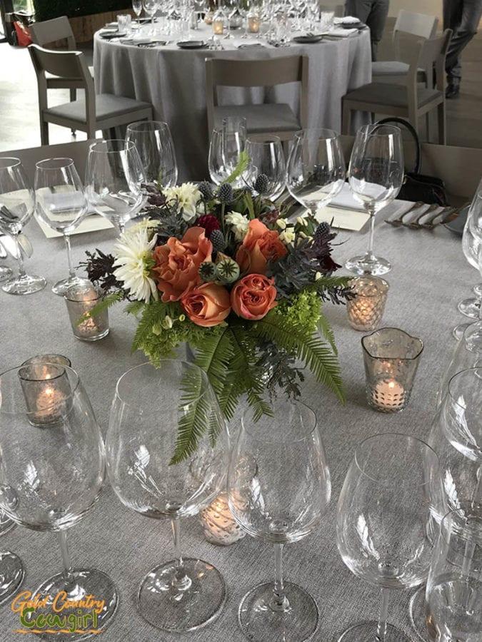 Tables at Los Alcobas