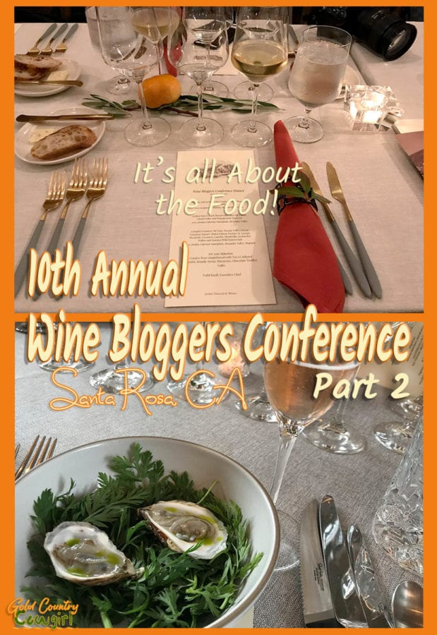 In my last post I promised to tell you about the Wine Bloggers Conference food. Here are the two meals I had that were absolutely outstanding.