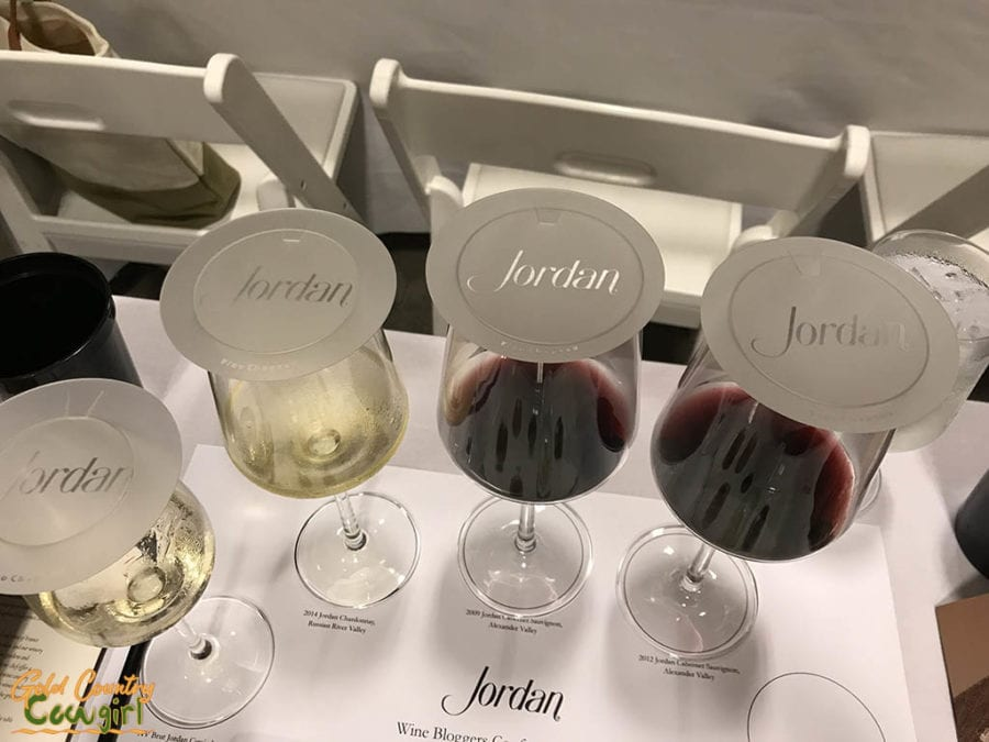 Jordan wines to go with caviar pairing