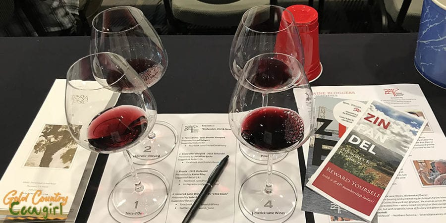 Wine Bloggers Conference 2017 Zinfandel tasting
