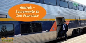 Amtrak -- Sacramento to San Francisco -- who knew? Certainly not me. At least not until recently. I've lived here for more than three years and didn't know you could take Amtrak from Sacramento to San Francisco.