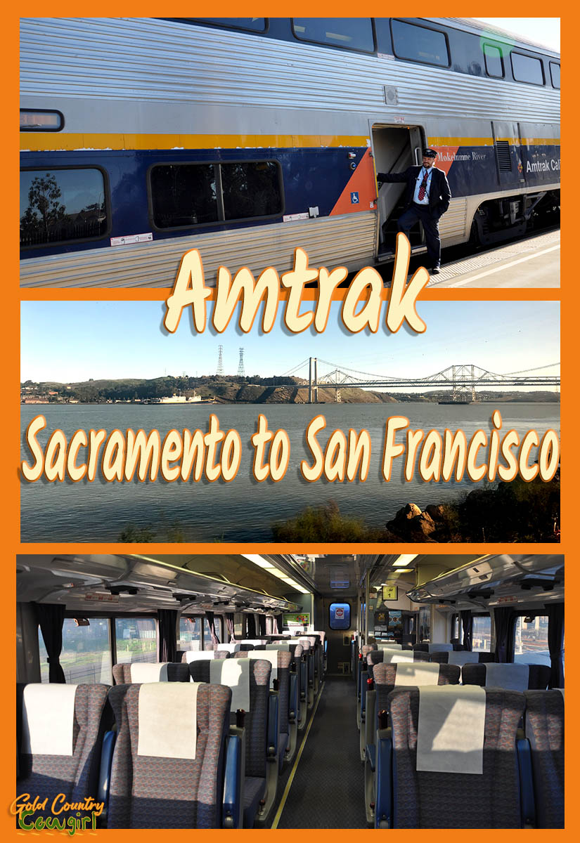Amtrak -- Sacramento to San Francisco -- who knew? Certainly not me. At least not until recently. I've lived here for more than three years and didn't know you could take Amtrak from Sacramento to San Francisco. | Capitol Corridor | Train Travel | California |