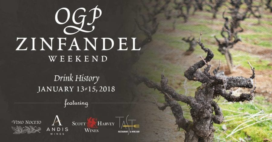 OGP Zinfandel Weekend, Shenandoah Valley, Plymouth, CA