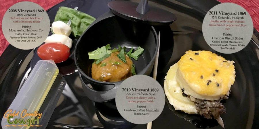 OGP Zinfandel Weekend, Shenandoah Valley, Plymouth, CA - food pairing at Scott Harvey