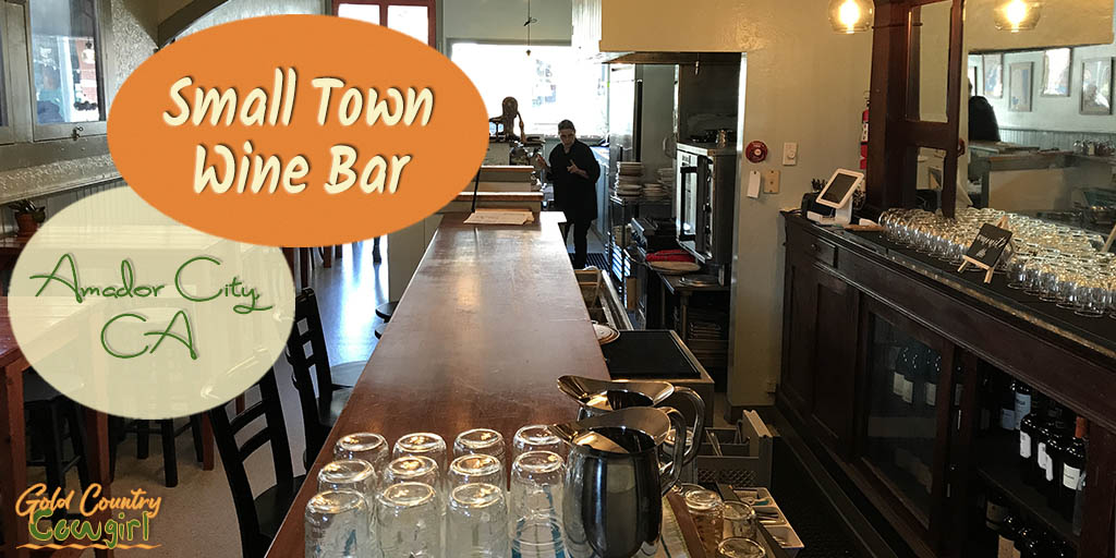 Small Town Wine Bar in California's Smallest Incorporated City