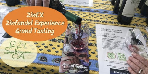 The Grand Tasting is one of the five events comprising the annual Zinfandel Experience, also known as ZinEX. The event is designed to entertain, enlighten and delight. Check out my post to see if they lived up to those goals.