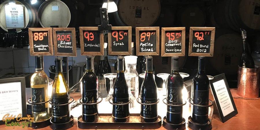 Wines at Schmitz 24 Brix
